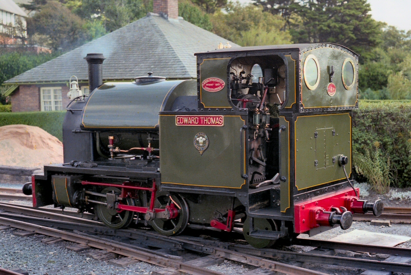 * Beddgelert Station 1992 - Welsh Highland Railway *
